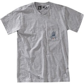 Hippy Tree Grovewood Maglia a maniche corte Uomo, heather grey